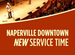 NEW Service Time Begins Oct 30