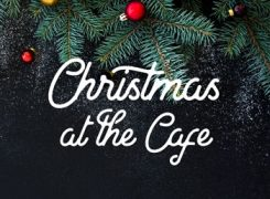 Christmas at the Cafe Event